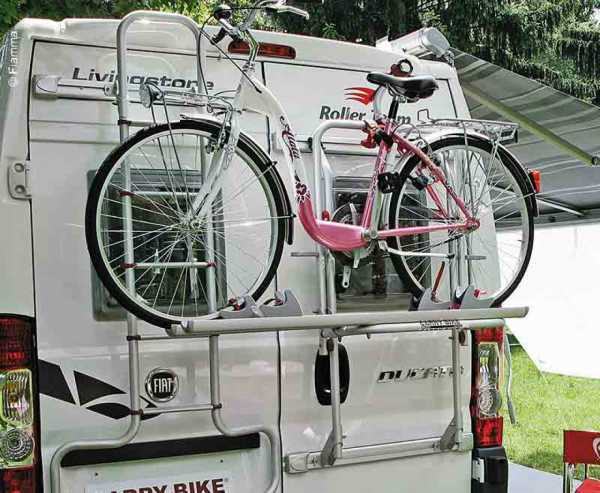 Fiamma Fahrradträger Carry Bike Fiat Ducato ab 2006(H2+H3)