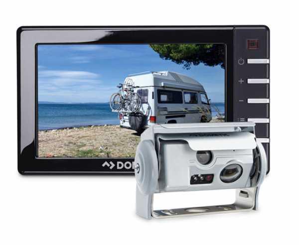 "PerfectView RVS794 mit 7""-Monitor + Kamera CAM44 Silber"