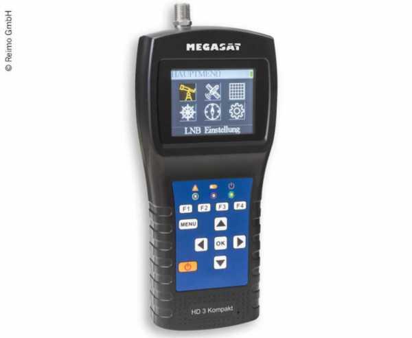 Sat-Finder und SAT-Messgerät HD 3 Kompakt