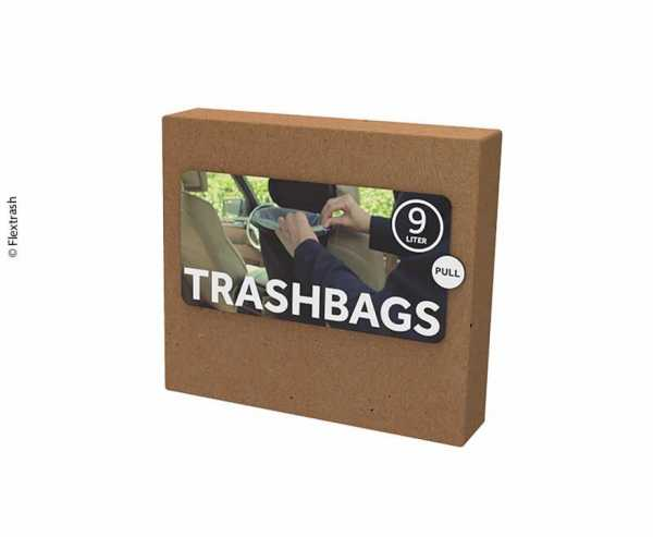 Flextrash Mülleimerbeutel Size L biologisch abbaubares Material