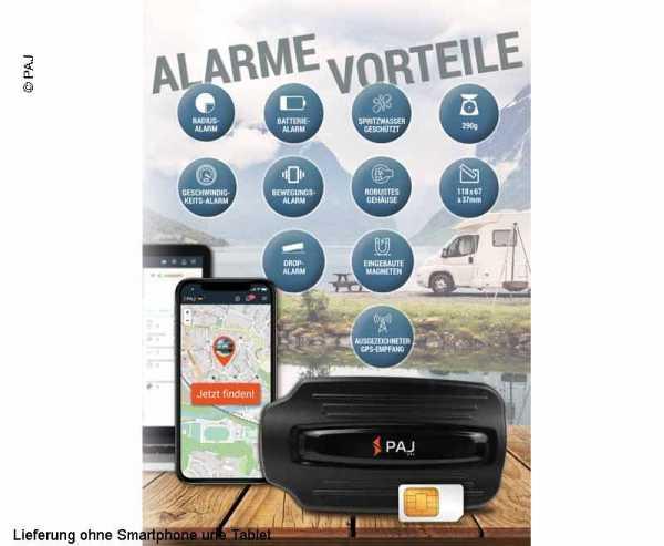 PAJ Power Finder, Fahrzeugortung, GPS Tracker