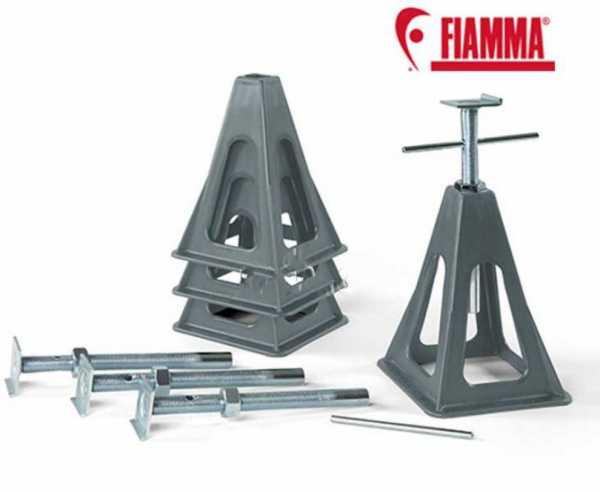 Stützbockset für Wohnwagen Kunststoff 4er Set