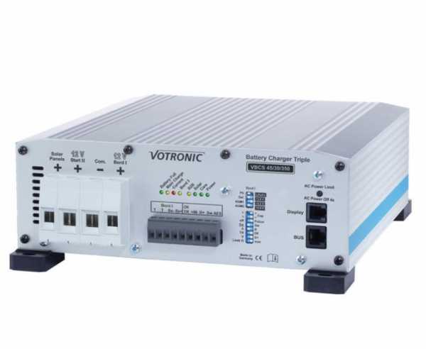 Batterie Ladegerät VBCS Triple 45/30/350