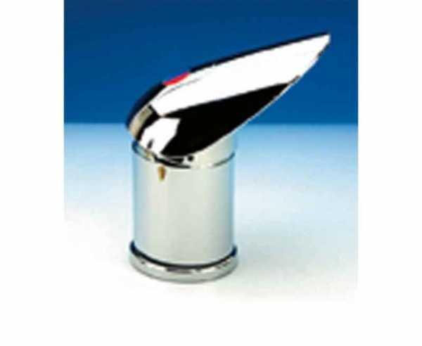 Untertischhahn Pelikan chrom, Anschluss UniQuick 12mm