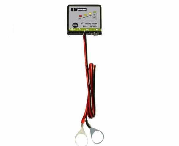 Batterietester BT1201 Enduro 12V, schwarz/grau