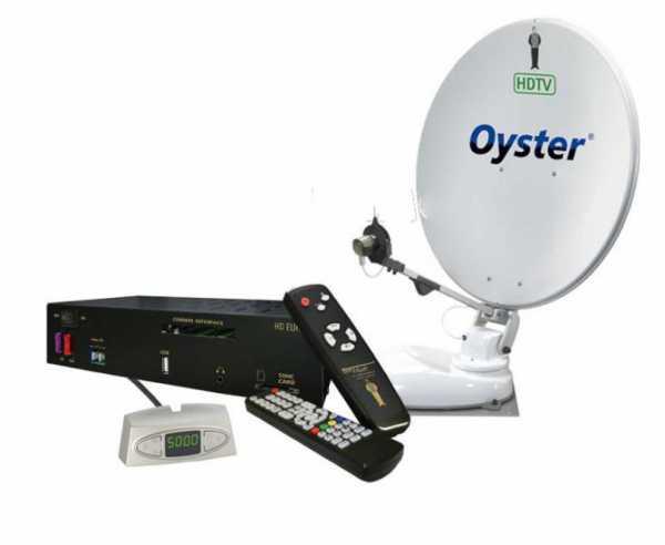 OYSTER 85HDTV m.Single-LNB