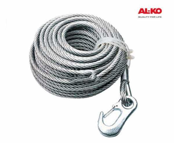 Seil 15m f. Alko-Seilwinde 350kg