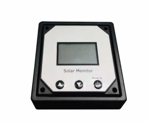 Carbest MPPT-Solarladeregler Bedienteil