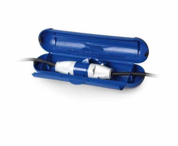 CEE Safebox, groß mit Schloss, blau