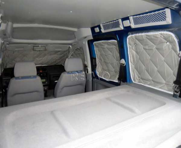 Isoflex Thermomatte Fahrerhaus Nissan NV 200 5-tlg.