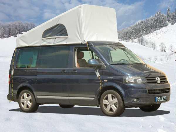 Wetterschutz für Schlafdach VW T5/6 LR Easyfit vorne hoch