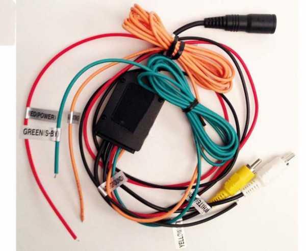Adapter DRN-033A - für Camos Kameras an Zenec Nav-systeme