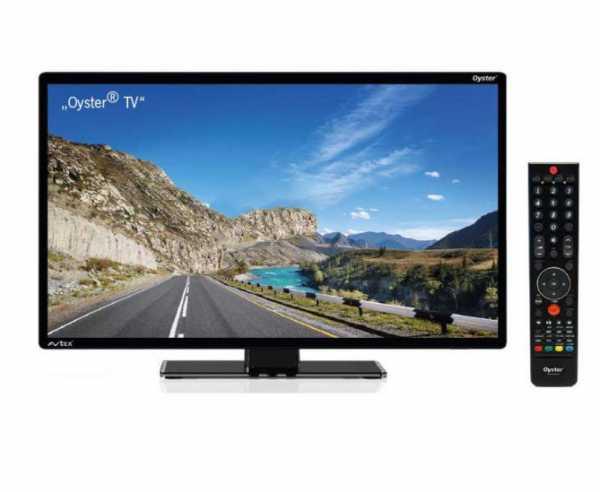 "12V Fernseher Oyster® TV 24"" mit DVB-T2/DVB-S2 Tuner"