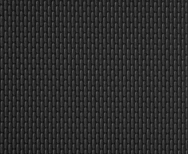 Polsterstoff Bricks Titanschwarz 4mm kaschiert, 175cm breit