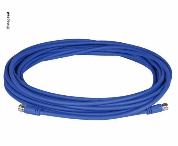 1,5m Flexibles Koaxial-Kabel mit F-Anschlüssen, 75 Ohm, Ø 5,6mm