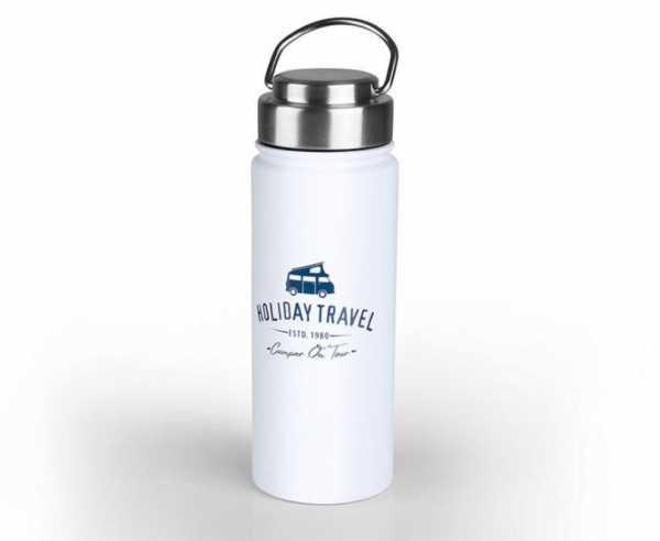 HOLIDAY TRAVEL Edelstahl Vacuumflasche 0,5 L