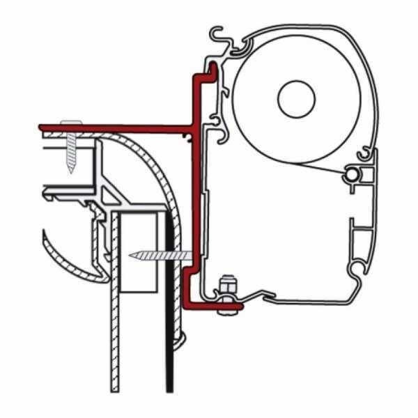 Markisen-Adapter für Adria, Pilote, Bürstner