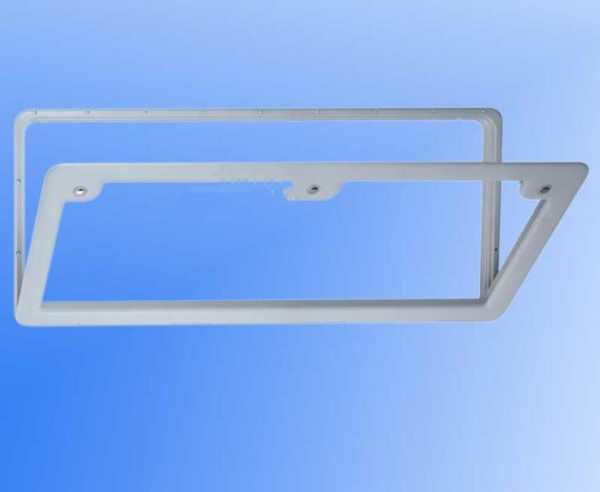 Serviceklappe 7 weiß 28x105 cm
