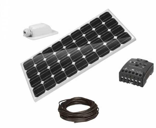 Carbest Solarmodul Komplettset