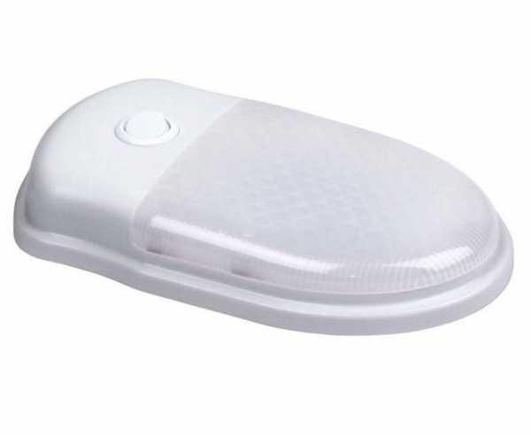 LED Garagen-/Deckenleuchte 12V/5,5W weiß