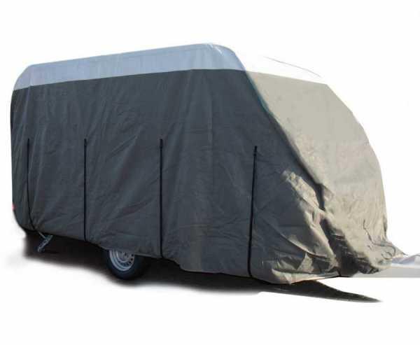 Wohnwagen Schutzhülle PREMIUM Länge 510-550cm für Wohnwagen-Breite bis 250cm