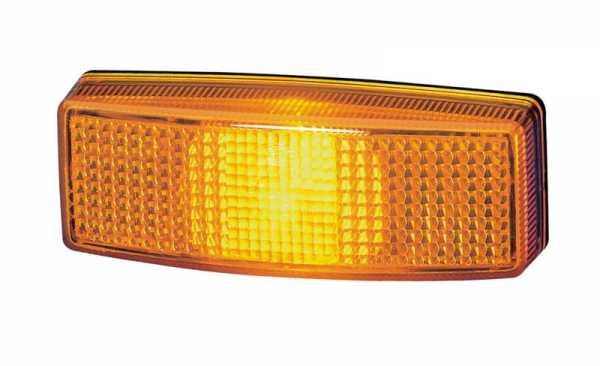 Seitenmarkierungsleuchte 12V, gelb