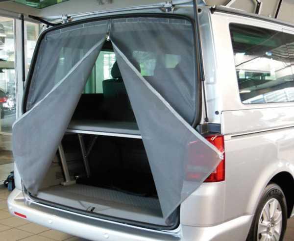 Moskitonetz VW Crafter Heckklappe