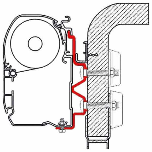 Adapter-Set F1/F45i/ F45iL Hymer Camp