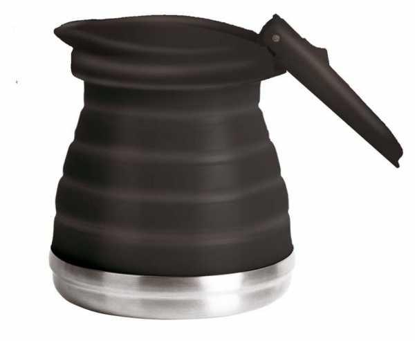 Silikon Wasserkessel LOTTA, faltbar, ca.800ml, anthrazit