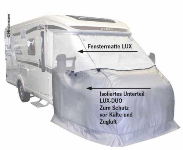 Thermo-Außen-Isolierung Unterteil LuxDuo & Fenstermatte