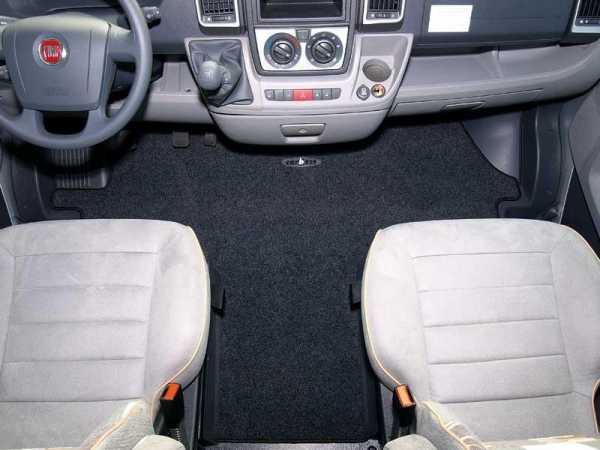 Fahrerhaus-Fußmatten für Fiat Ducato, Peugeot Boxer, Citroen Jumper Bj.02-06