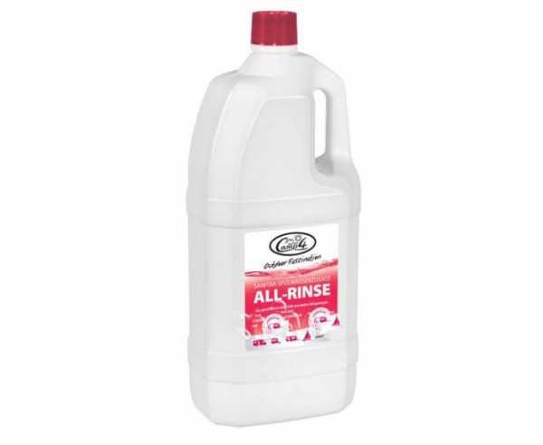All-Rinse Sanitärflüssigkeit 2 Liter