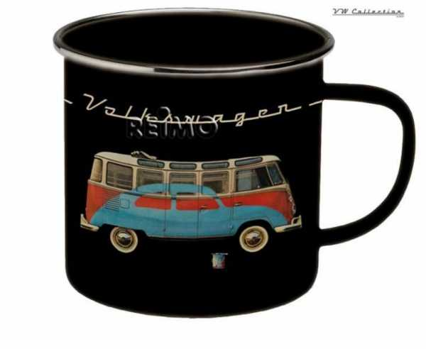 VW Collection Emaille-Tasse