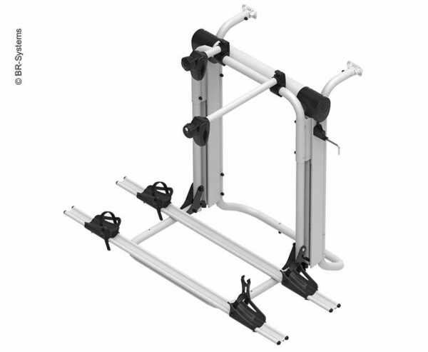 Heckträger E-Bike Lift Short Rail für 2 E-Bikes od. 3 Räder bis 60kg