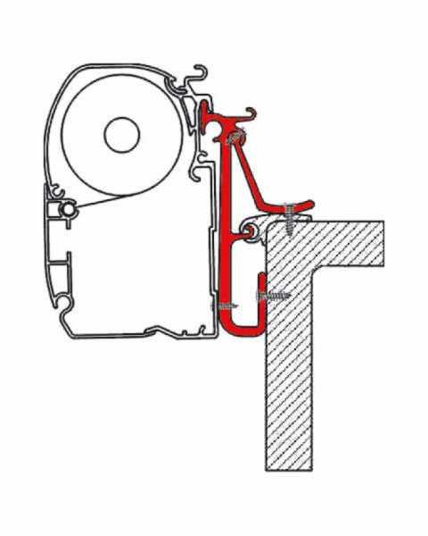 FIAMMA Adapter für F1/F45i/F45iL/F50/F55