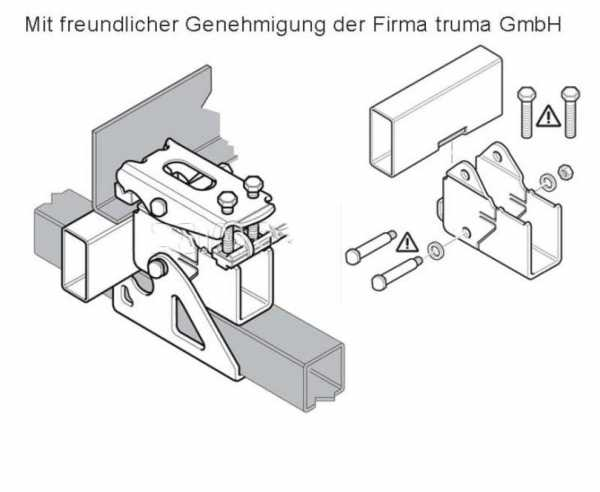 Truma Mover-Distanzsatz 60mm