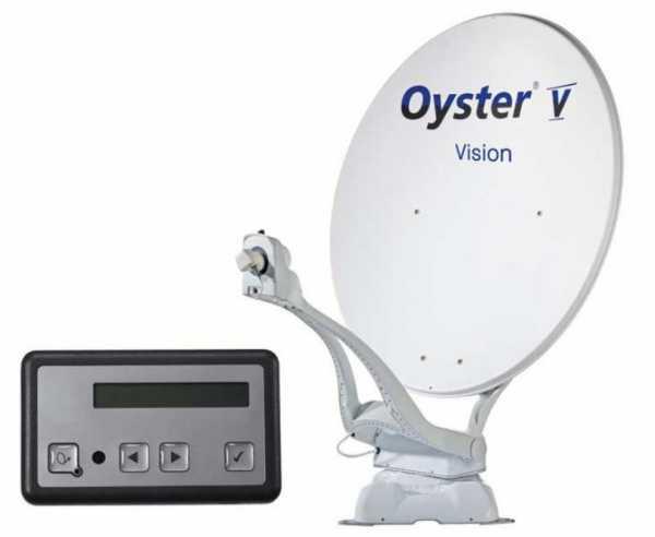 Digital Sat-Antenne Oyster V Vision 85 TWIN Skew
