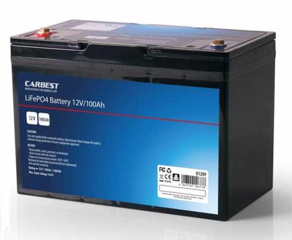 Carbest Lithium Batterie LiFeP04