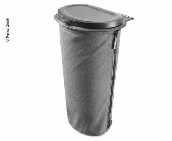 Flextrash Mülleimer 5 Liter grau