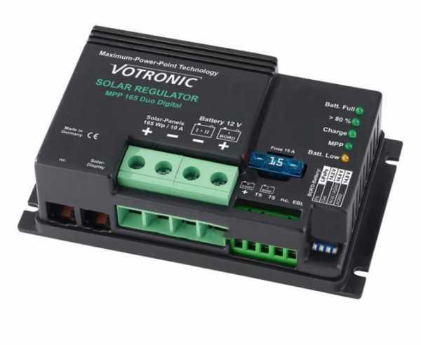 MPPT Laderegler von Votronic MPP 165 Duo 12V Digital