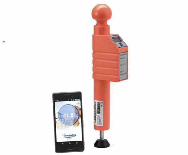 Digitale Stützlastwaage STB 150 orange mit Bluetooth