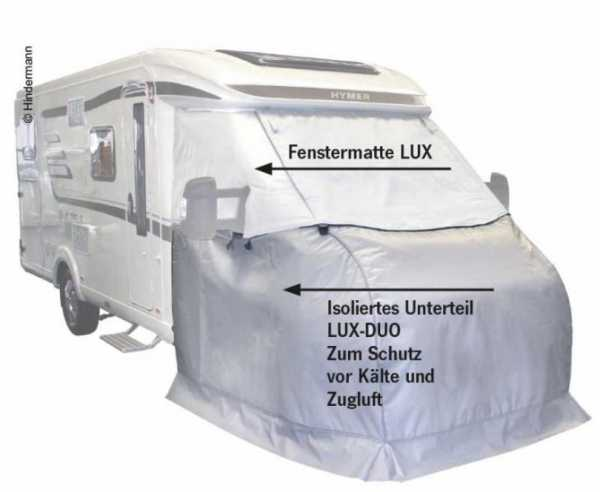 Thermo-Außen-Isolierung Unterteil LuxDuo & Fenstermatte (90836)