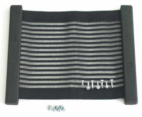 Kiiper-Ablagenetz Gr.L, schwarz, liniert L:350xB:250mm
