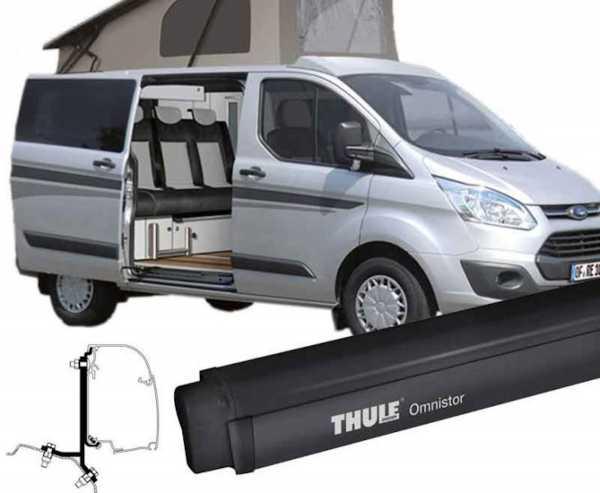 Thule Markise Omnistor 4900 + Adapter Ford Custom 2,6m