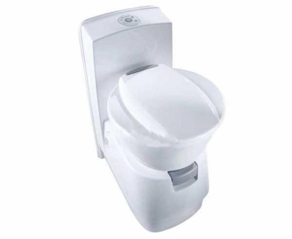 Dometic Toilette CTW4110 m. 7l Frischwassertank, 19l Fäkaltank