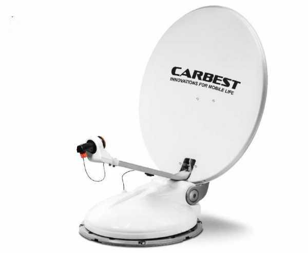 SAT-Anlage Travelsat 2, 68 cm mit Bluetooth und TWIN