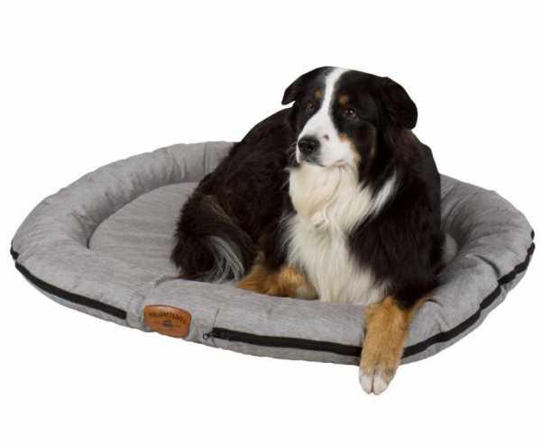 Outdoor-Hundebett HOLIDAY TRAVEL 100x75cm, grau-meliert