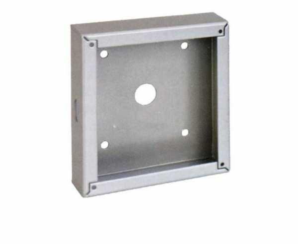 Aufbaugehäuse für MT-Solar-Fernanzeige II (85115), silber