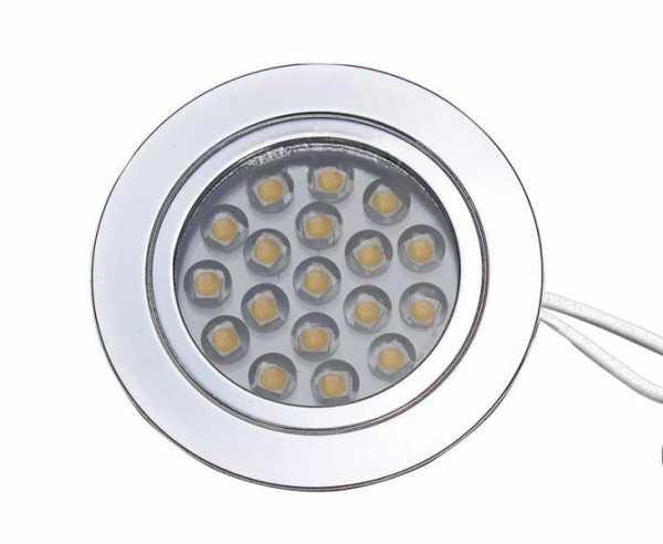 Einbauspot 1,2W 18SME LED verchromt