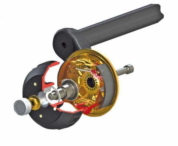 Bremsunterstützung mit dem ALKO Umrüstpaket RB2361